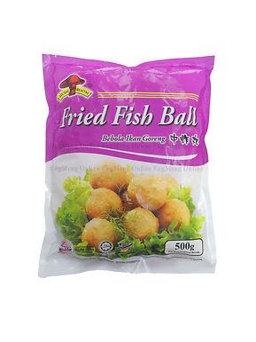 Mushroom Fried fish ball (M size) 中炸丸 500G