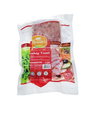 Hennies Premium Sliced Turkey Toast 500G