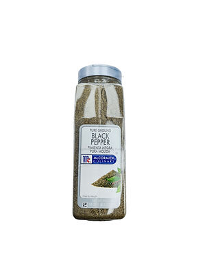 McCormick Culinary Black Pepper (Pure Ground) 510G