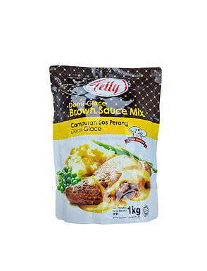 Telly Demi Glace Brown Sauce Mix 1KG