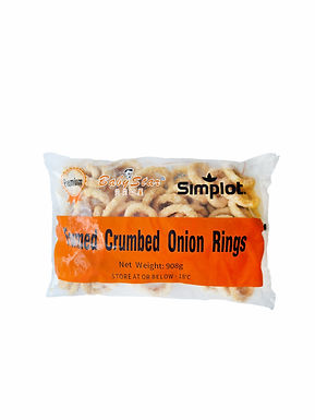Simplot Premium Formed Crumbed Onion Rings  908G