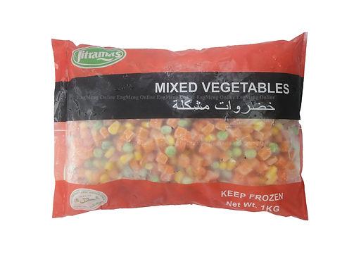 Jitamas Mixed Vegetable 1KG