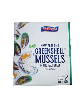 Talley's New Zealand GreenShell Mussels 907G