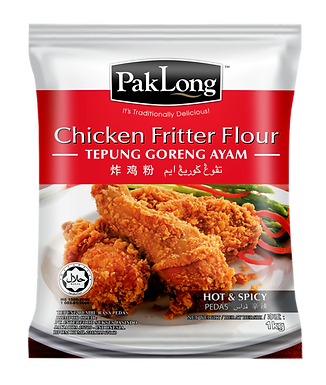 Pak Long Chicken Fritter Flour (Hot & Spicy) 1KG