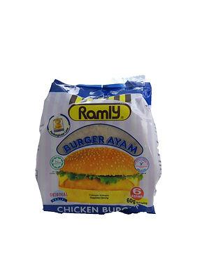 Ramly Chicken Burger 60G (6 Pieces)