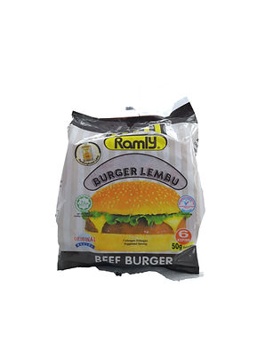 Ramly Beef Burger 50G (6Pieces)