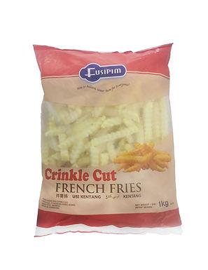 Fusipim Crinkle Cut  French Fries 1KG