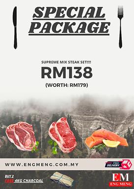 Superme Mix Steak Set