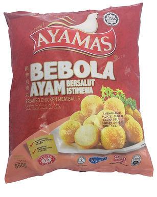 Ayamas Breaded Chicken Meatballs 850g