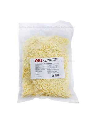 OKI Shredded Mozzarella Cheese 1KG