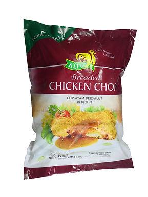 KLFC Breaded Chicken Chop 5 Pieces 1.25KG