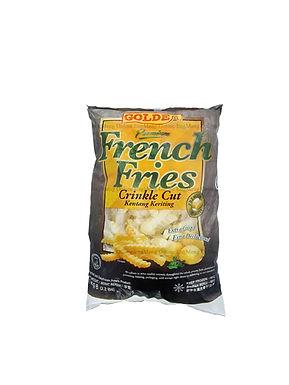 Golden Crinkle Cut French Fries 1KG