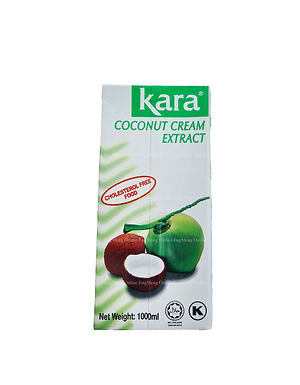 Kara Coconut Cream Extract 1 Liter