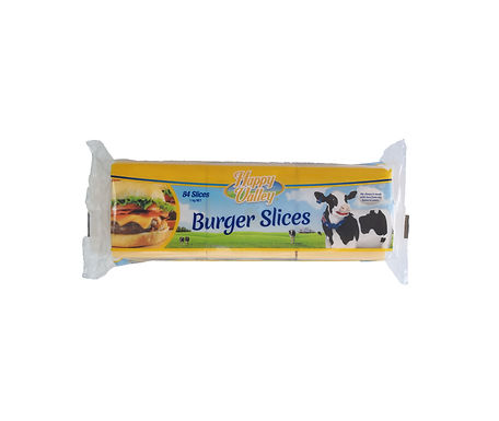 Happy Vally Burger Cheese Slides 1000G (84 Pieces)