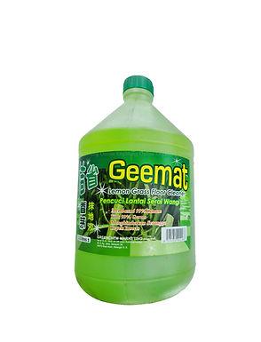 GreenChem Geemat Lemon Grass Floor Cleaner 3.3Litre