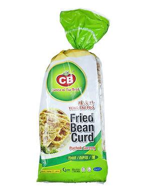 CB Fried Bean Curd Fuzok Thin (50 Pieces)