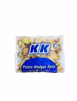 KK Golden Potato Wedges Spicy 1KG
