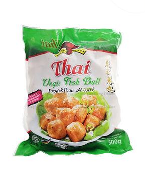 Mushroom Thai Vegie Fish Ball 泰式菜鱼丸 500G