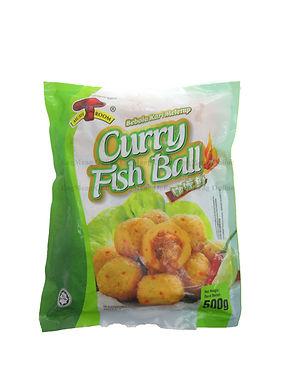 Mushroom's Curry Fish Ball 咖喱鱼丸 500G