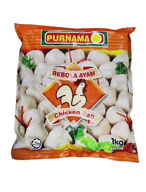 Purnama Chicken Ball 1KG
