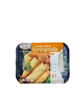 Lazat Potato Chicken Spring Rolls 250G (10 Pieces)