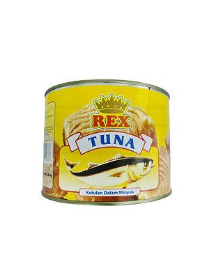 Rex Tuna Chunks in Oil 1.85KG