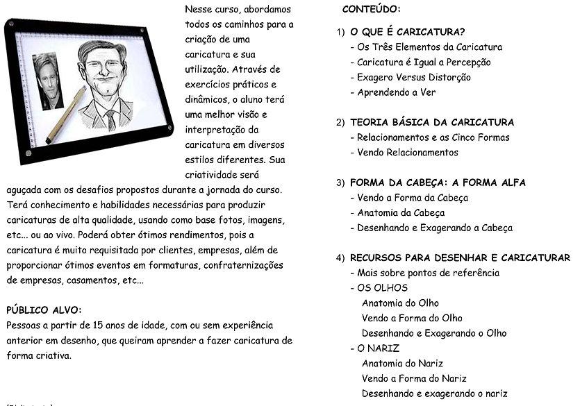 Aulas de caricatura