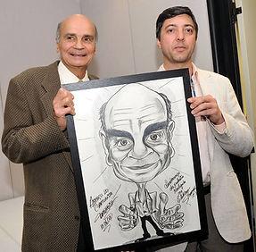 caricatura de famosos