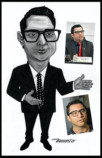 caricatura digital pb
