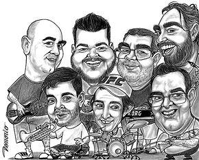 caricatura tradicional pb grupo