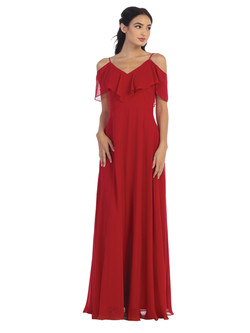 red Converter gown (look1)