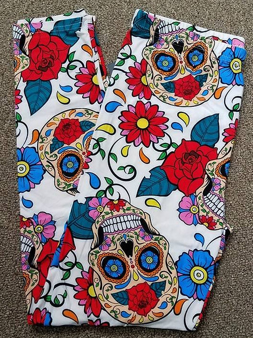 Sugar Skulls Leggings Various Size