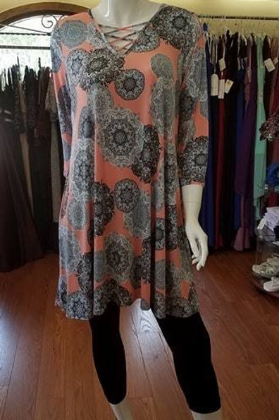 Tunic/Dress Plus Size with POCKETS :-)