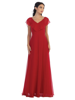 red Converter gown (look 3)