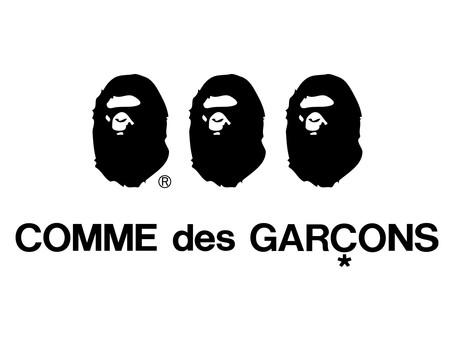 """コム デ ギャルソンとア ベイシング エイプ初コラボ!      """" A BATHING APE® × COMME des GARCONS"""" LIMITED COLLABORATION RELEASE"""