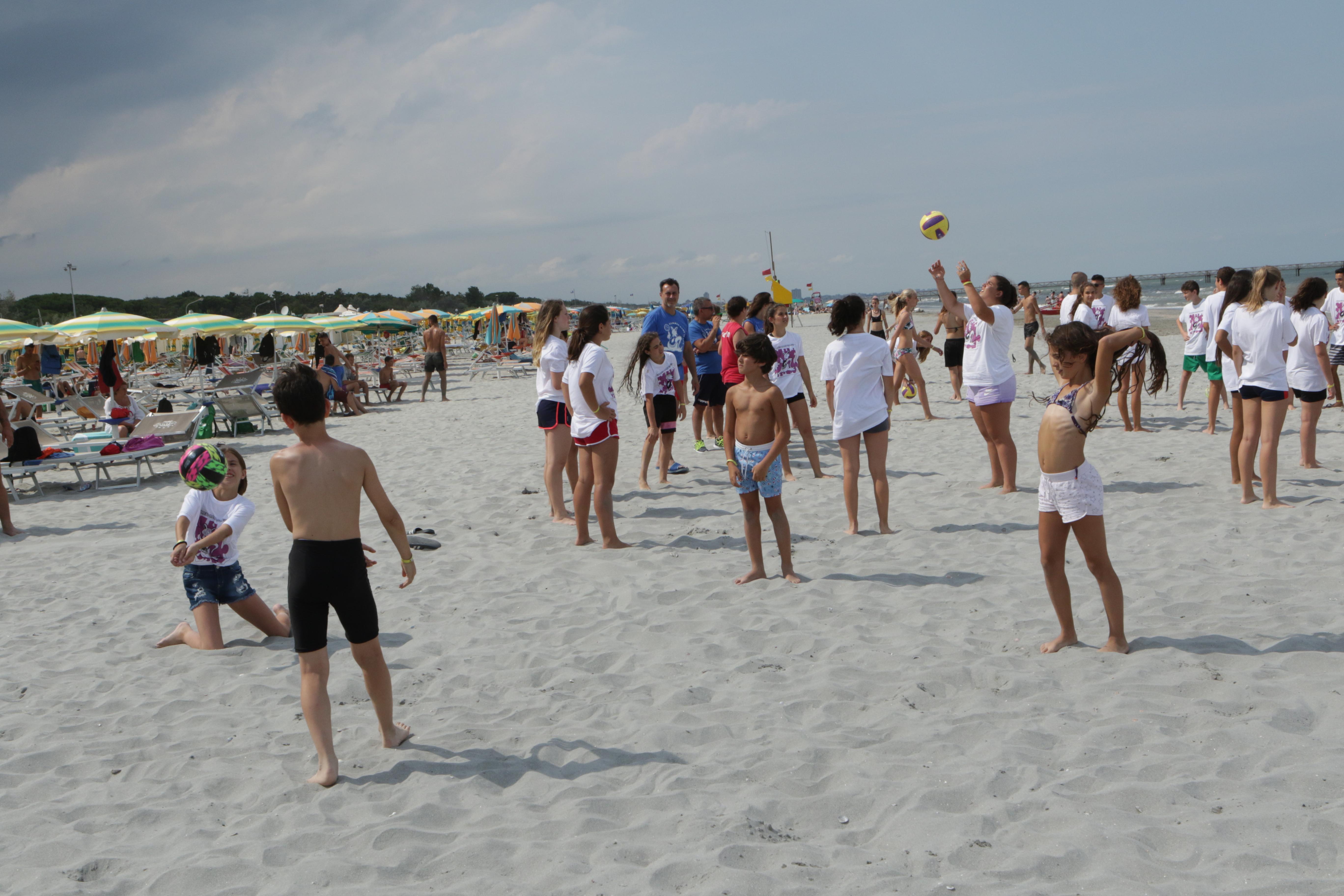 da campioni camp cesenatico spiaggia