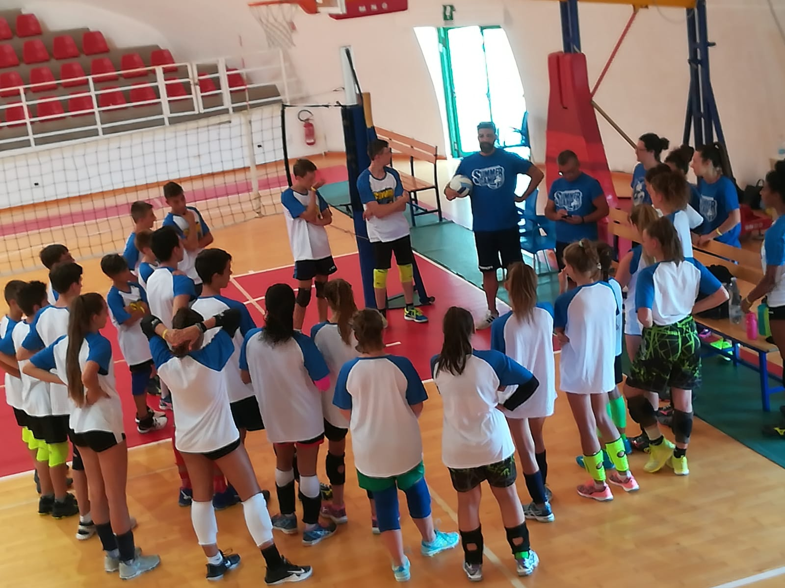 da campioni summer camp volley