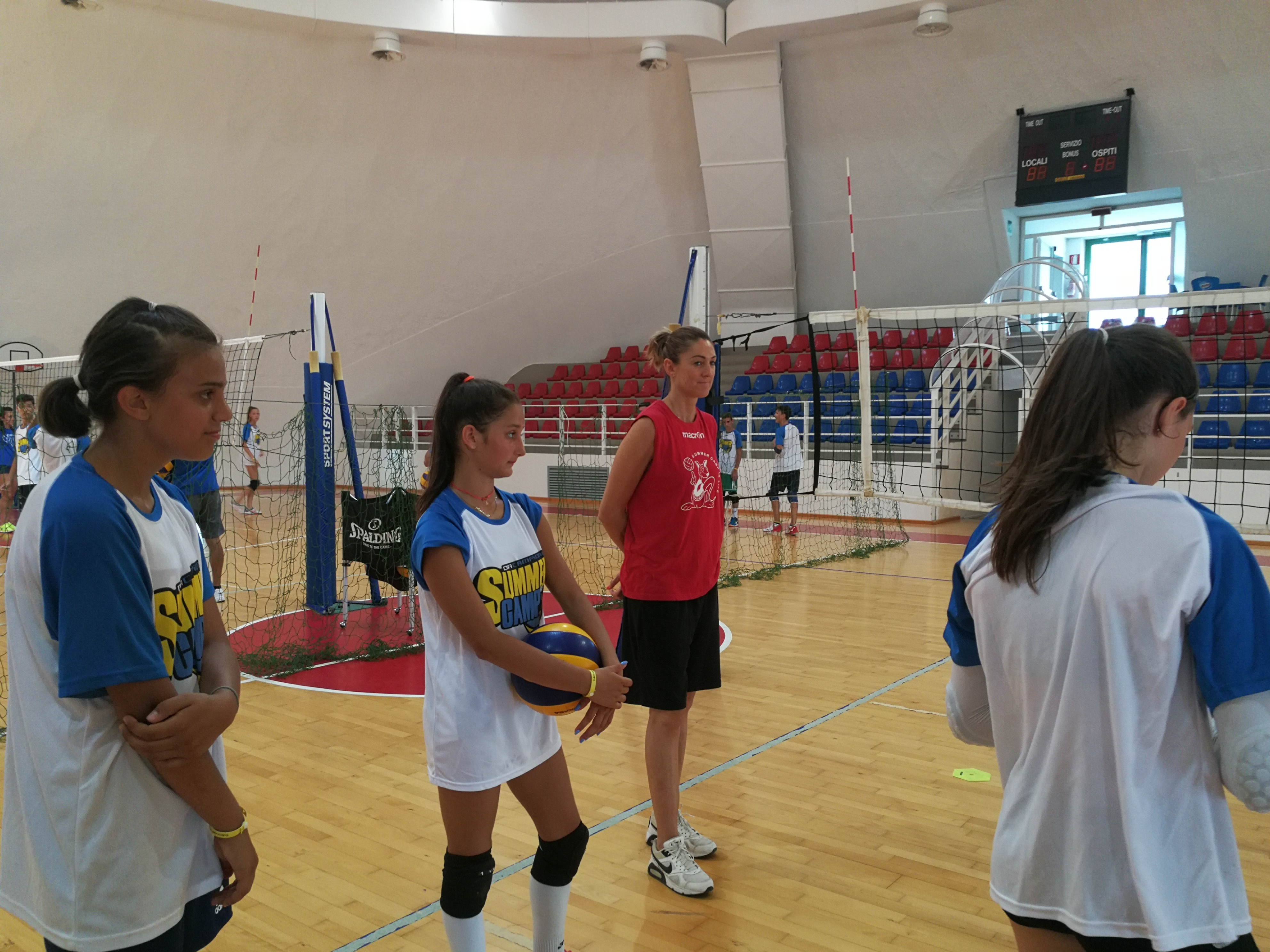 da campioni summer camp volley