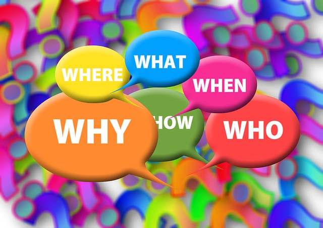 Who,When,What, Where,Why & How in Captions