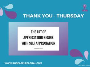 Thank You - Thursday #5