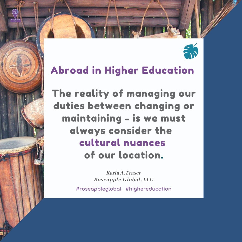 Quote abut expat life from Roseapple Global