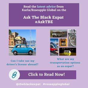 Expat Advice: Transportation Abroad