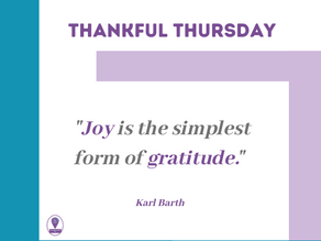Thankful Thursday #17