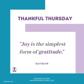 Thankful Thursday #17
