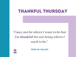 Thankful Thursday #21