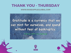 Thank You - Thursday #3