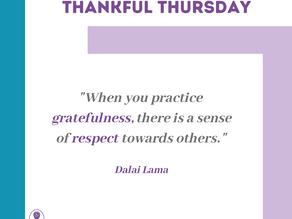 Thankful Thursday #16