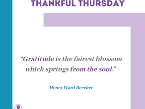 Thankful Thursday #15