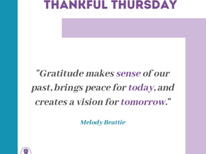 Thankful Thursday #14