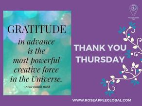 Thank You - Thursday #4